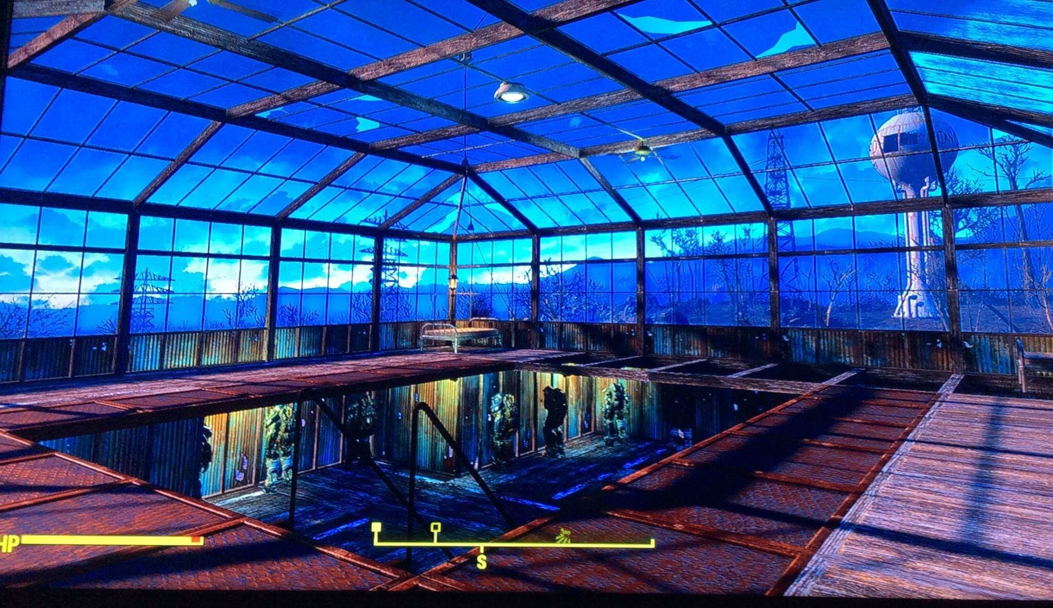 Interior loft/room at Red Rocket Fallout 4 Fallout 4