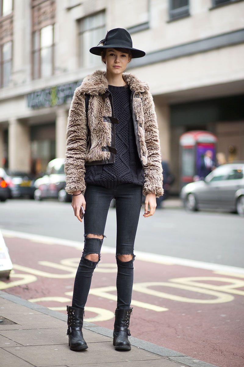 Best Street Style New York Fashion Week Aw 17: It Brits: The Best London Fashion Week Street Style