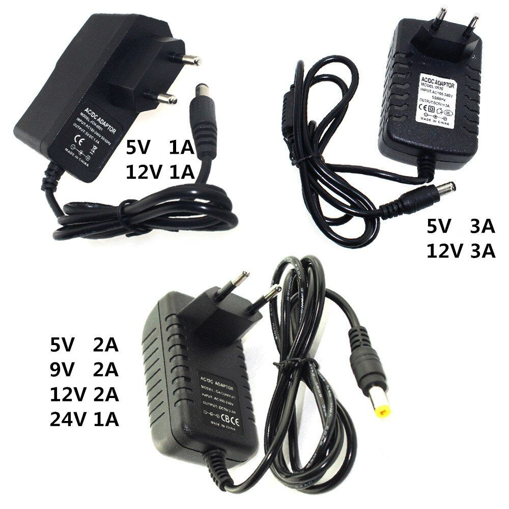 Best Offer For 5v 9v 12v 24v Power Supply Adapter 1a 2a 3a Lighting Transformers 220v To 5 12 V Volt Charger Power Led Drivers 12v Led Lights Led Power Supply