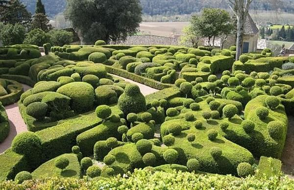 Superieur Unique Garden Design Of Marqueyssac , The French Garden Paradise. Its Like  A Dr.