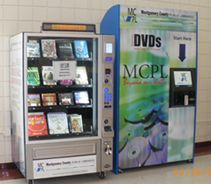 Olney MCPL Express - DVDs in one vending machine, books in ...