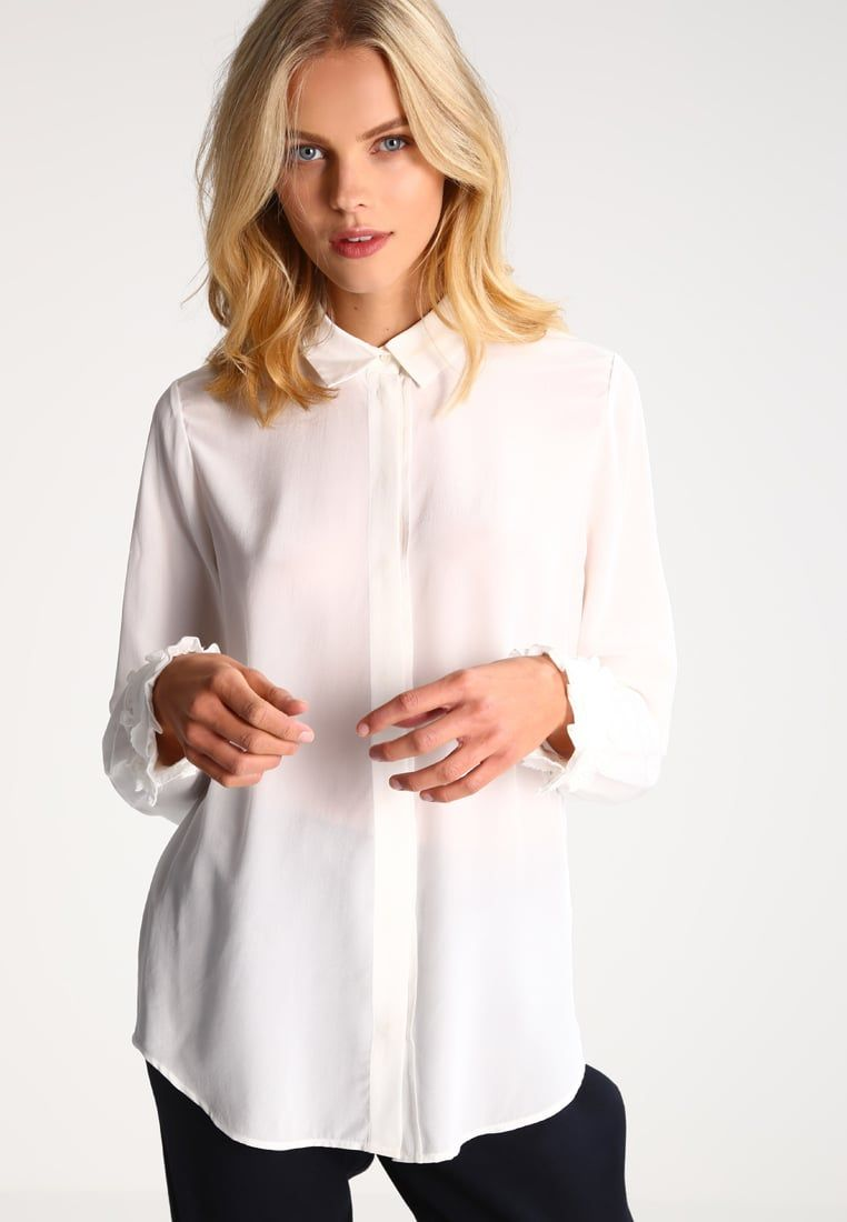 Bestill Club Monaco ZASKIA - Skjorte - blanc de blanc for kr 1895,00 (29.11.16) med gratis frakt på Zalando.no