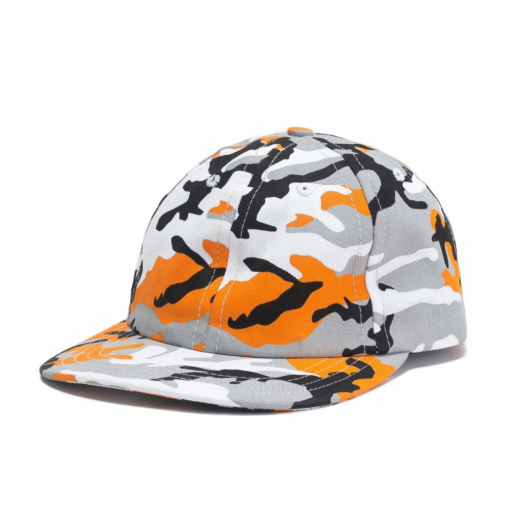 Camo Dad Hat (Orange)  a4e67df2bd72