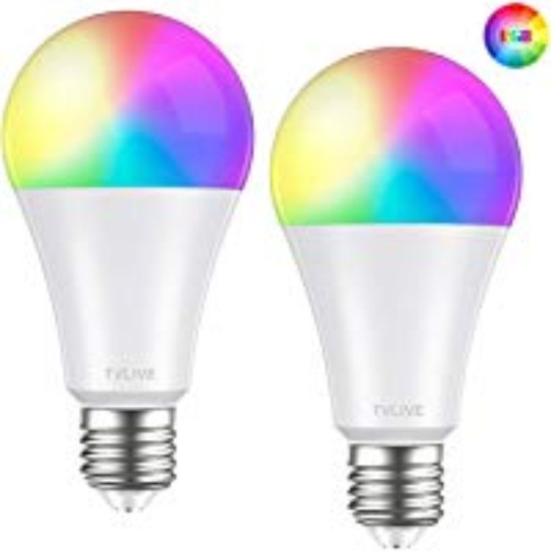 Bombilla Led Inteligente Wifi Tvlive 2 Pack 10w E27 Bombilla Led Luces Calidas Frias Rgb Lampara Wifi Funciona Con Alexa Echo En 2020 Bombillas Led Bombillas Led