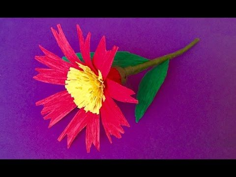 How to make paper flower crepe paper flowers for home decoration how to make paper flower crepe paper flowers for home decoration artsncraft mightylinksfo