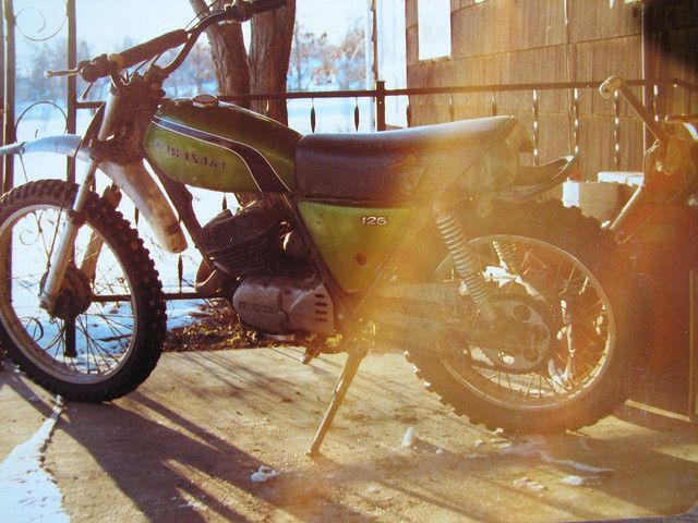 Eric's 1st bike...1973 Kawasaki 125 Enduro