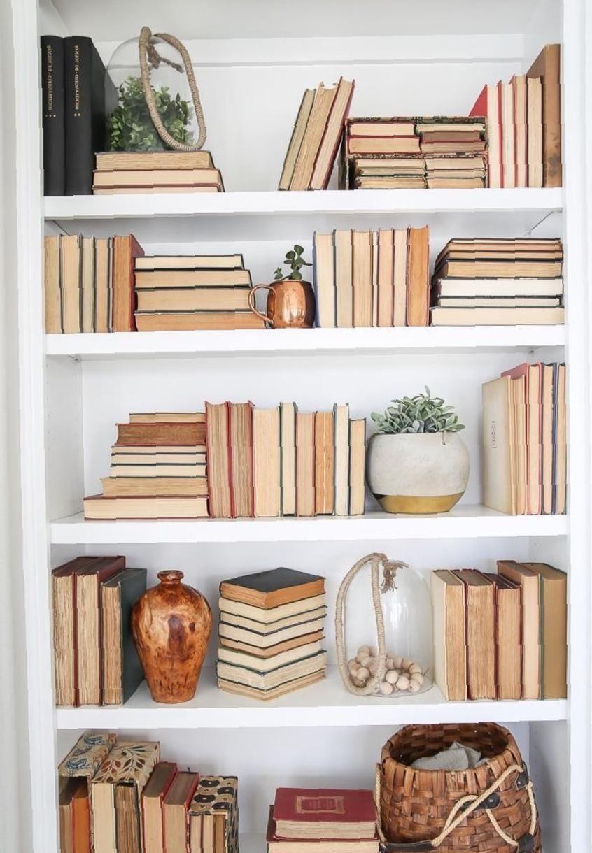35 Nice Bookshelves Inspiration Spark Your Idea Sooshell In 2021 Bookshelf Styling Bookshelf Design Bookshelf Decor