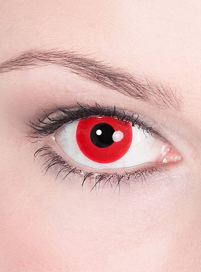 red prescription contacts deliver beauty and function in one easy to