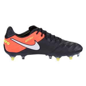 Nike Tiempo Legend Vi Sg Pro Ac Soft Ground Soccer Cleat Black White Hyper Orange Volt Worldsoccershop Com Worldsocc World Soccer Shop Soccer Shop Soccer