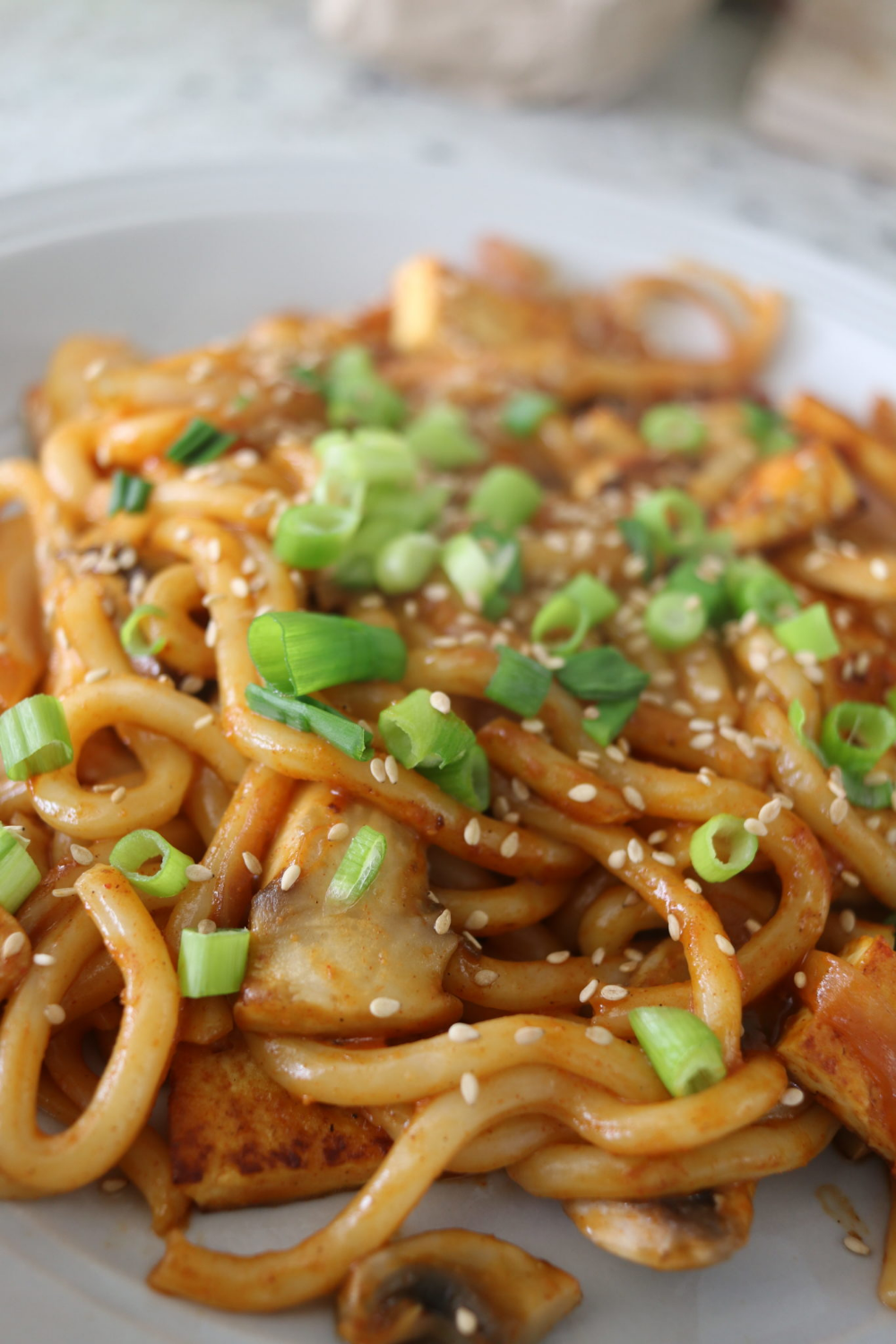 5 Minute Spicy Udon Noodle Recipe Cheap Lazy Vegan Udon Noodles Spicy Udon Noodle Recipe Vegetarian Udon