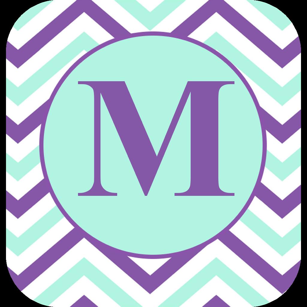 Make Your Own Monogram Wallpaper Monogram wallpaper