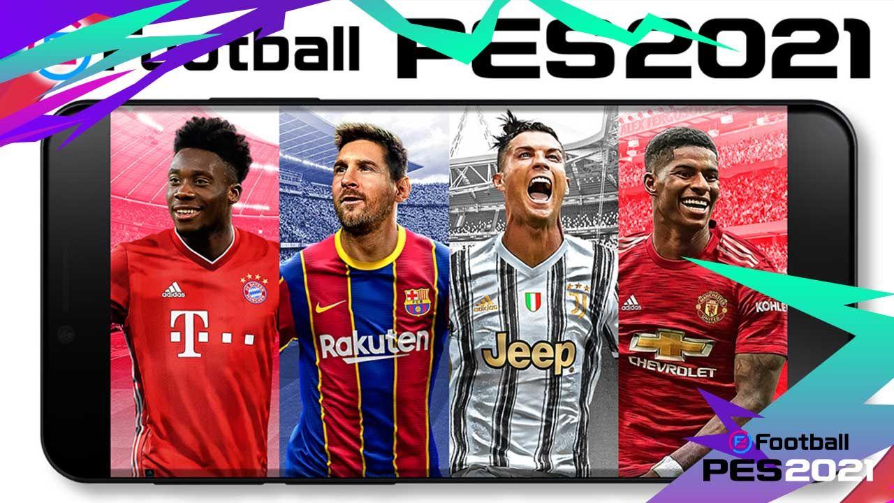 Efootball Pes 2021 Apk Indir Hileli Mod Full V5 0 0 Futbol Fifa Mac