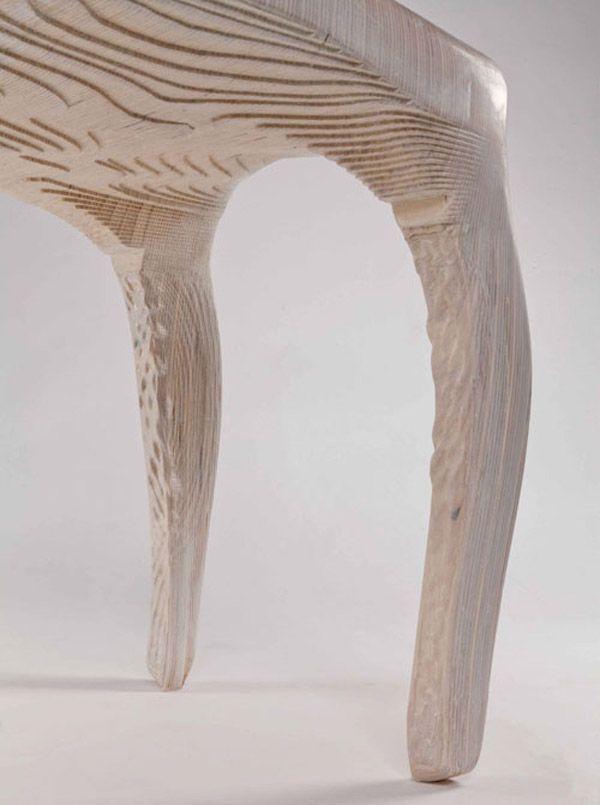 Exocarp Chair Guillermo Bernal Design Biomimetic Organic Furniture