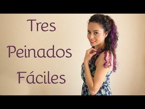 Peinados Para Cabello Chino 3 Opciones Faciles Y Rapidas Para
