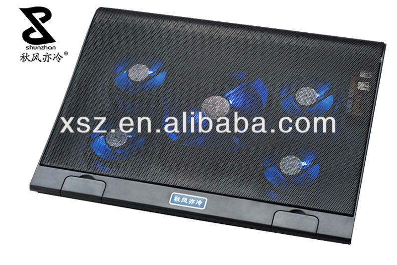 Laptop Cooler With 5 Fans