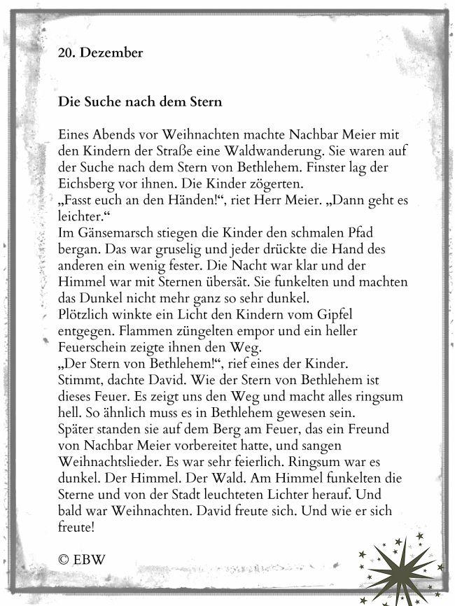 Kurze Adventskalendergeschichte Winterzeit Gedichte Zum Advent Weihnachten Geschichte Adventsgedichte