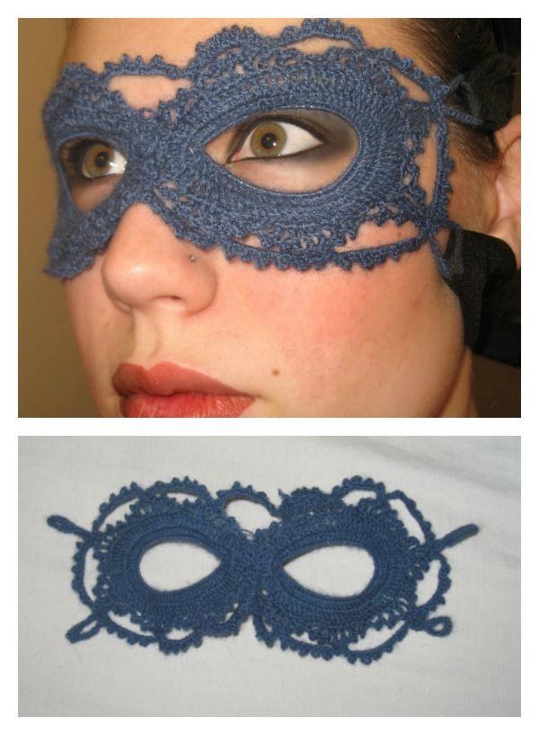 Lace Mask Free Crochet Pattern Crochet Crochet Patterns Crochet