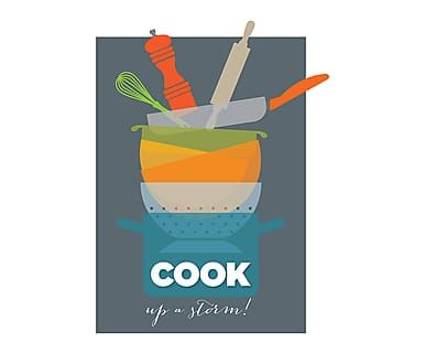 Affiche COOK UP - 30*42