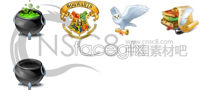 Free Download Harry Potter Icon Factory File Size 101 6kb File