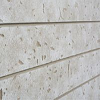 Cement Look Slatwall Panel 4 With Images Slat Wall Slat Wall