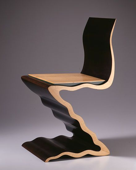 Rietveld Zig Zag Variation 7: Chair 788 By Garry Knox Bennett   Chair Blog
