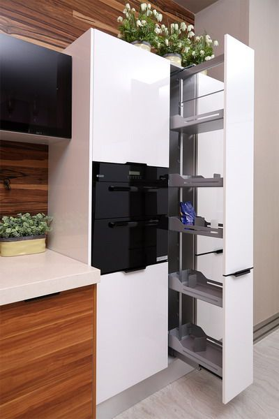 Side Pull Out Basket Oppein Kitchen Cabinet With Uv Paint Model
