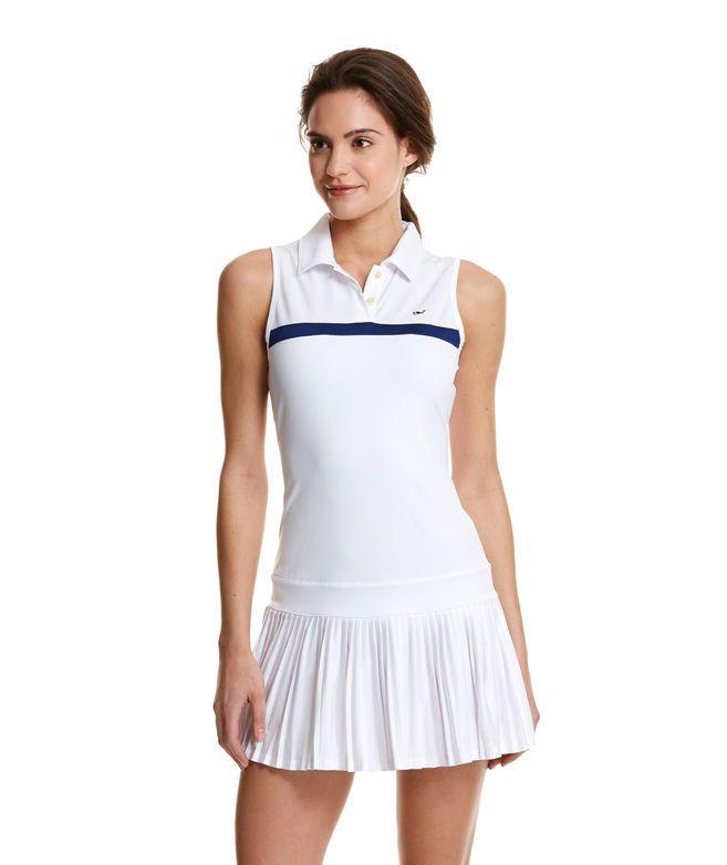 White Tennis Dress Vineyard Vines Pleated Tennis Dress Tennis Dress White Tennis Dress