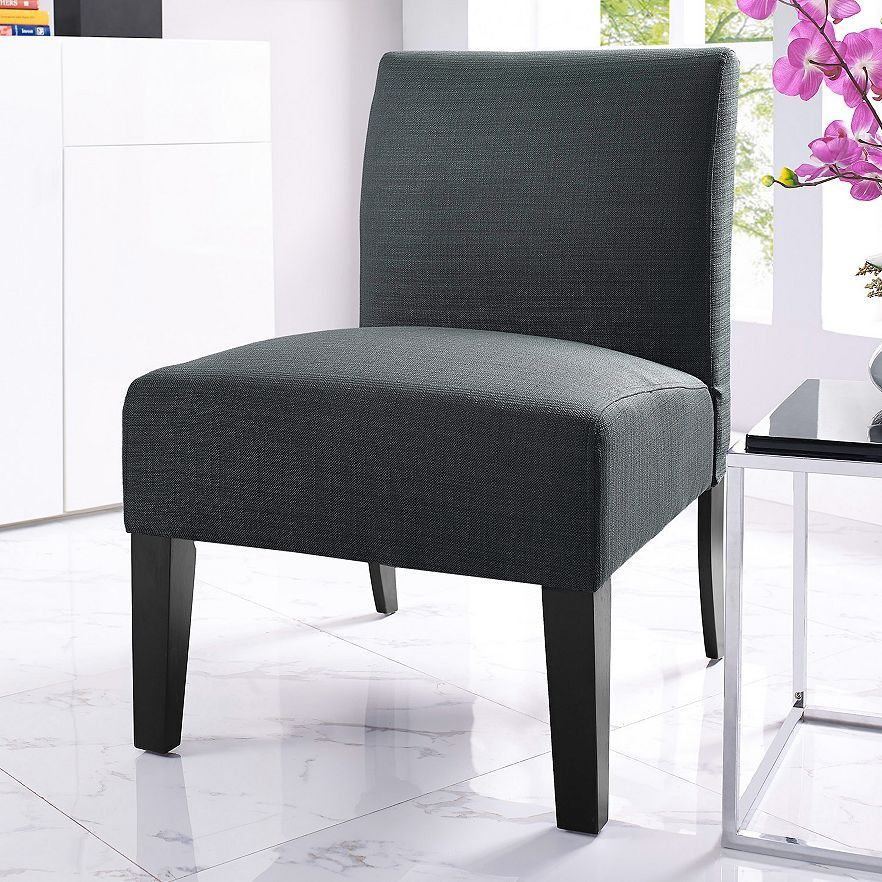Best Jane Accent Chair Charcoal Accent Chairs Living Room 400 x 300