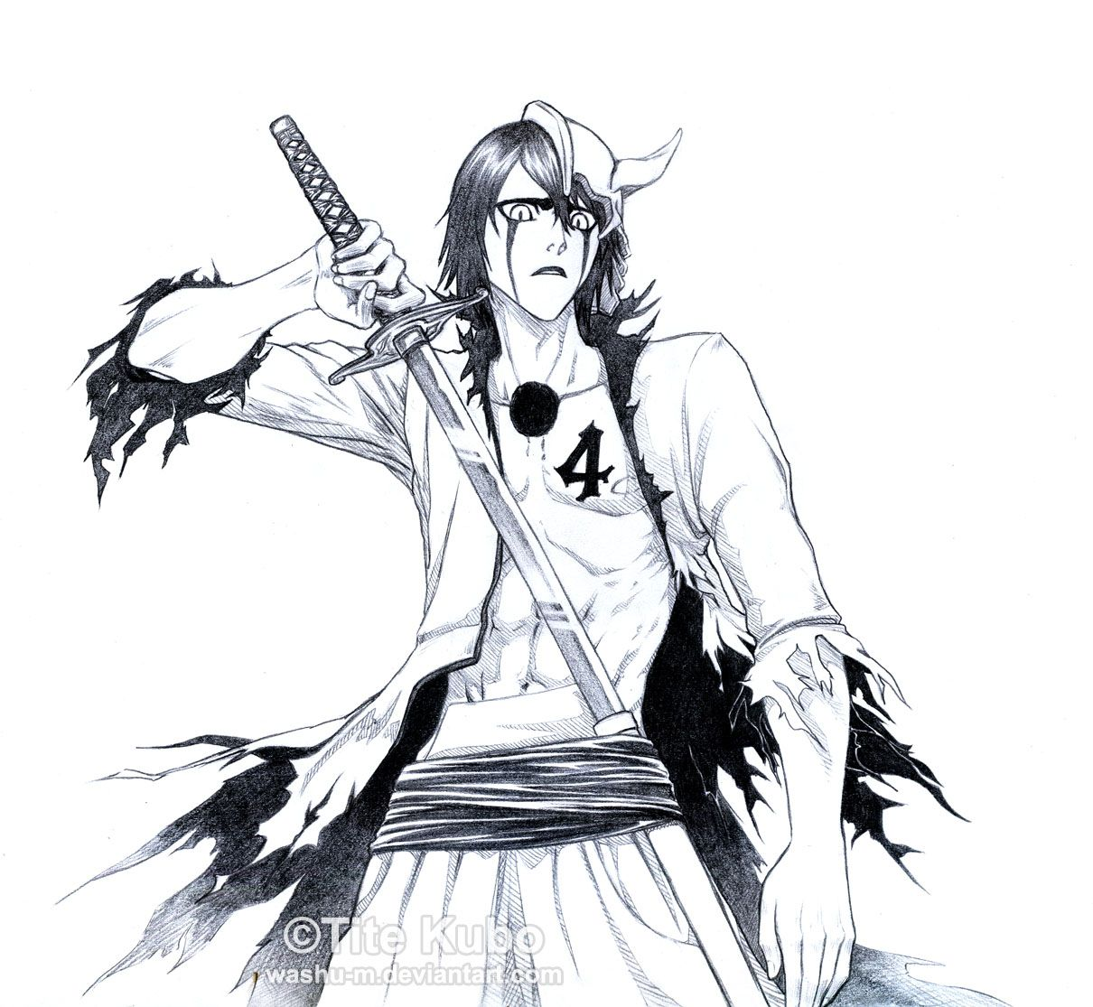 BLEACH - ULQUIORRA - Get Lost by Washu-M.deviantart.com on @deviantART - Bleach © Kubo Tite