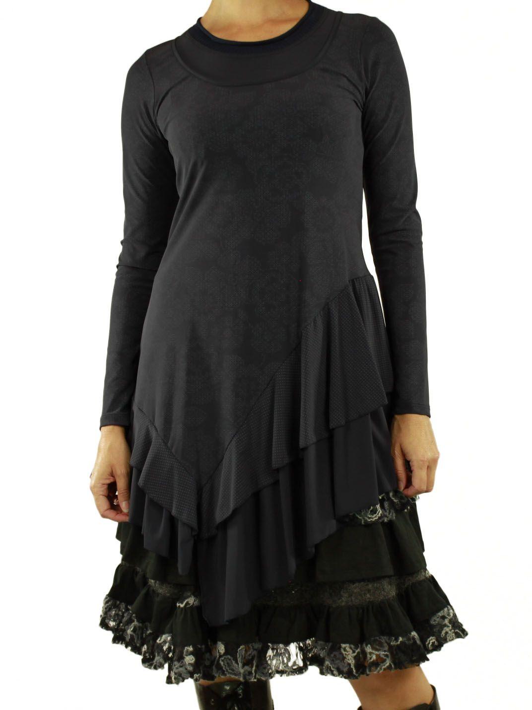 For Her Paris Tunic Women Black