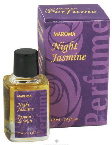 Maroma Perfume Oil Night Jasmine 10 ml *** Click affiliate