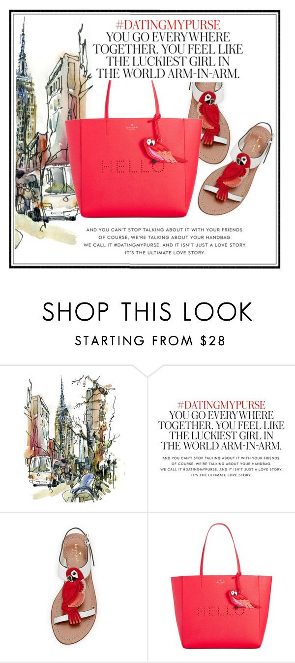 """Kate spade"" by keydon ❤ liked on Polyvore featuring Kate Spade"