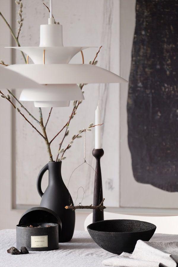 Black is lampen einrichtungsideen for Esstisch designklassiker