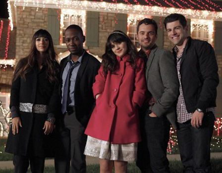 The Rise Of The Guy S Girl On Tv Do You Relate New Girl Zooey Deschanel Style Christmas Episodes