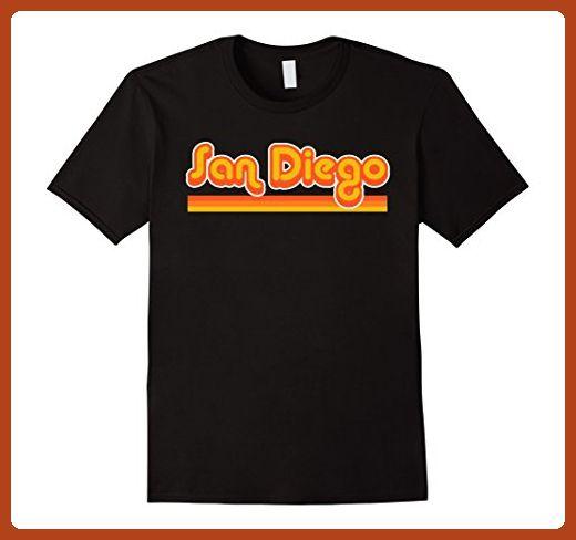 787a2086b Mens San Diego Shirt Retro 70s T-Shirt 3XL Black - Retro shirts  ( Partner-Link)