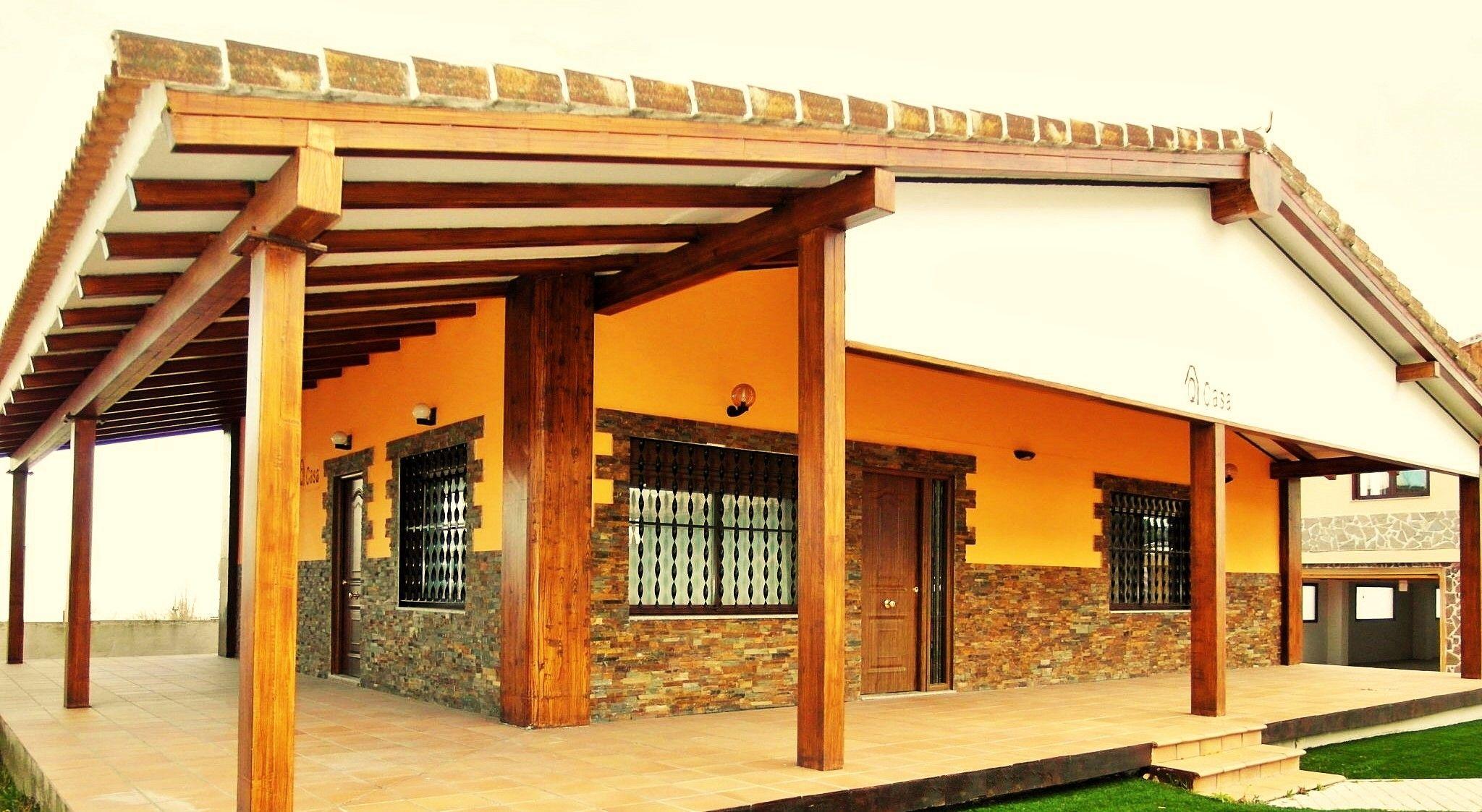 Casa de campo prefabricada for Casas de campo prefabricadas