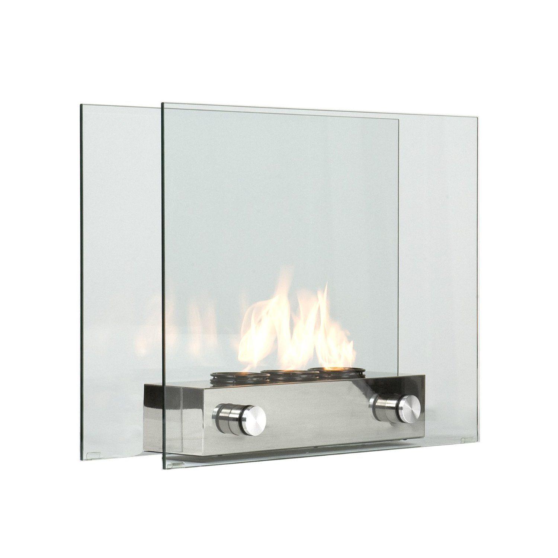 Modern Portable Glass Fireplace Chimeneas Modernas Chimeneas