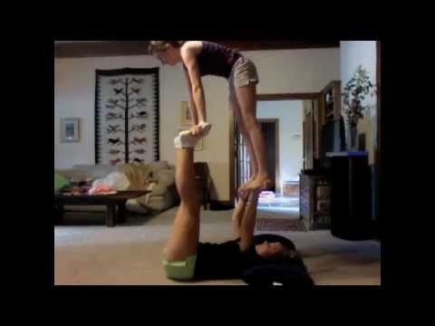 2 person stunts/tricks  2 person stunts cheer stunts