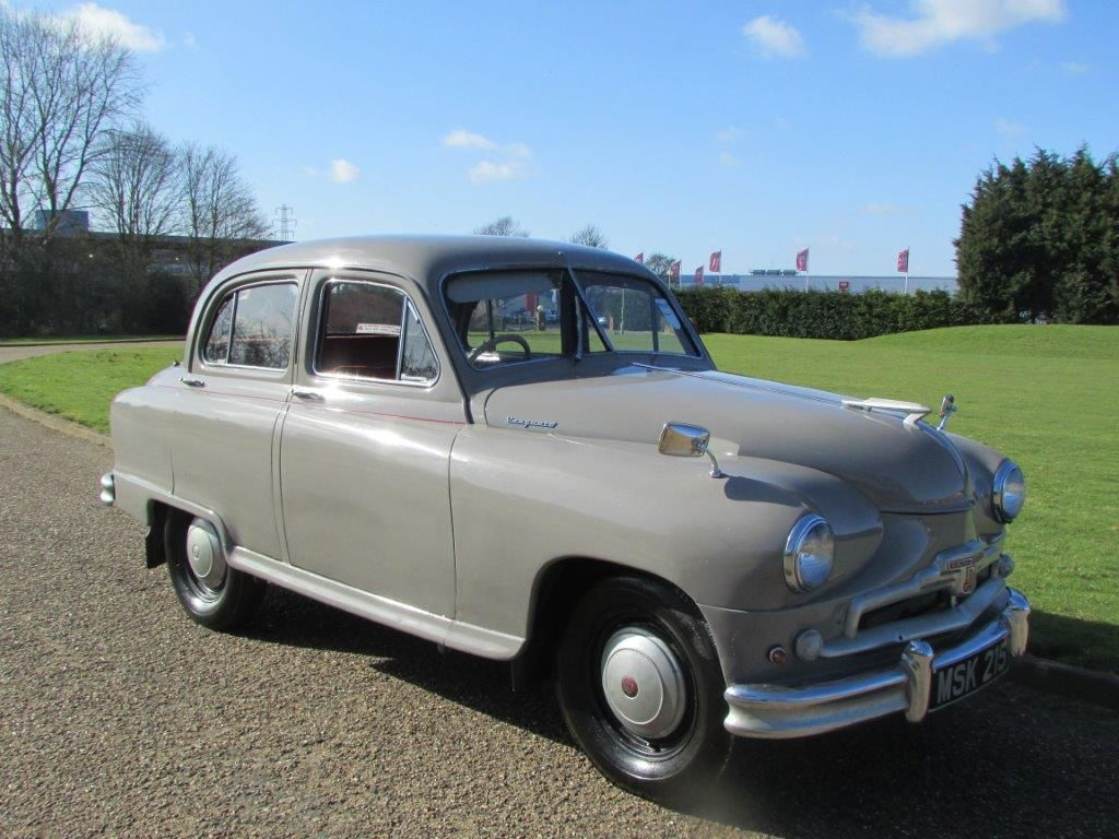1954 Standard Vanguard Maintenance of old vehicles: the material for ...