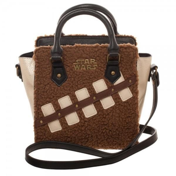 Star Wars Episode 8 Chewie And Porg Mini Brief Handbag BRAND NEW
