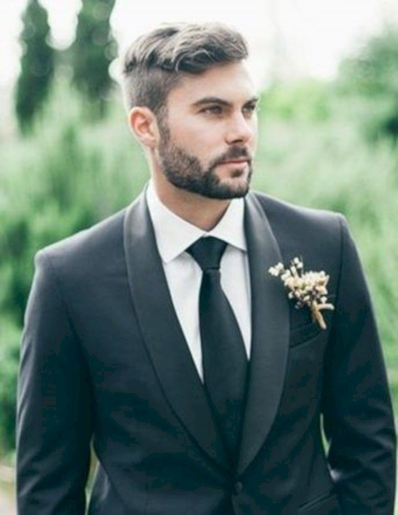 35 Formal Men Hairstyle For Wedding Party Attireal Com Mens Hairstyles Hair Styles Wedding Hairstyles