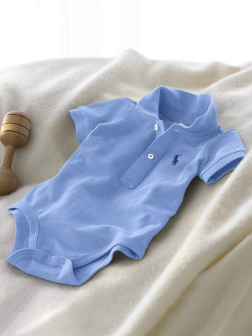 Cotton Layette Bodysuit - Create Your Own One-Pieces - RalphLauren.com
