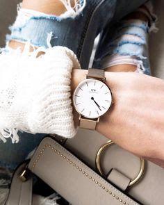montre femme tendance 2018 montres tendance 2019 fashion watches dw watch et daniel. Black Bedroom Furniture Sets. Home Design Ideas