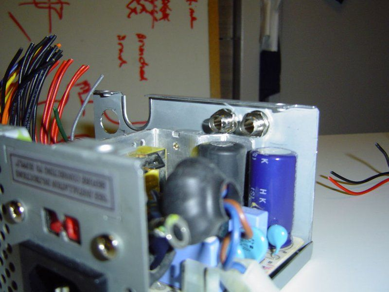 Atx to lab bench power supply conversion atx power