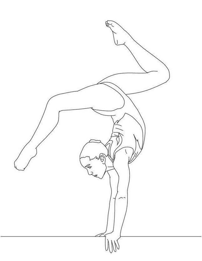 Coloring Page Gymnastics Hd Dance Coloring Pages Sports Coloring Pages Coloring Pages