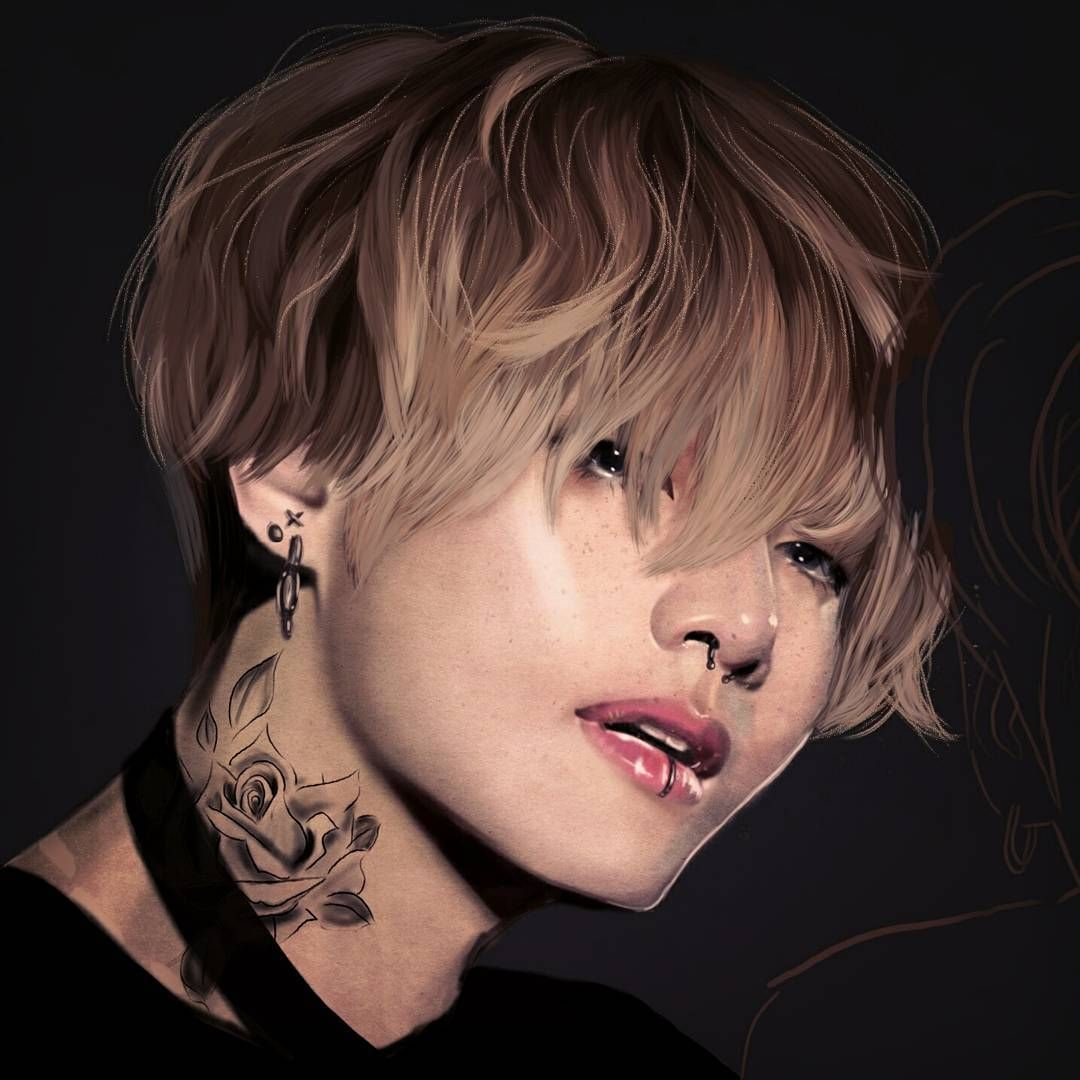 Tae And Jungkook Tattoo: Pin De Iguccihitae 🐯💜 Em Basically BTS ️