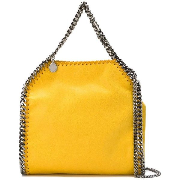Falabella foldover tote bag - Yellow & Orange Stella McCartney wHlg0Cfg
