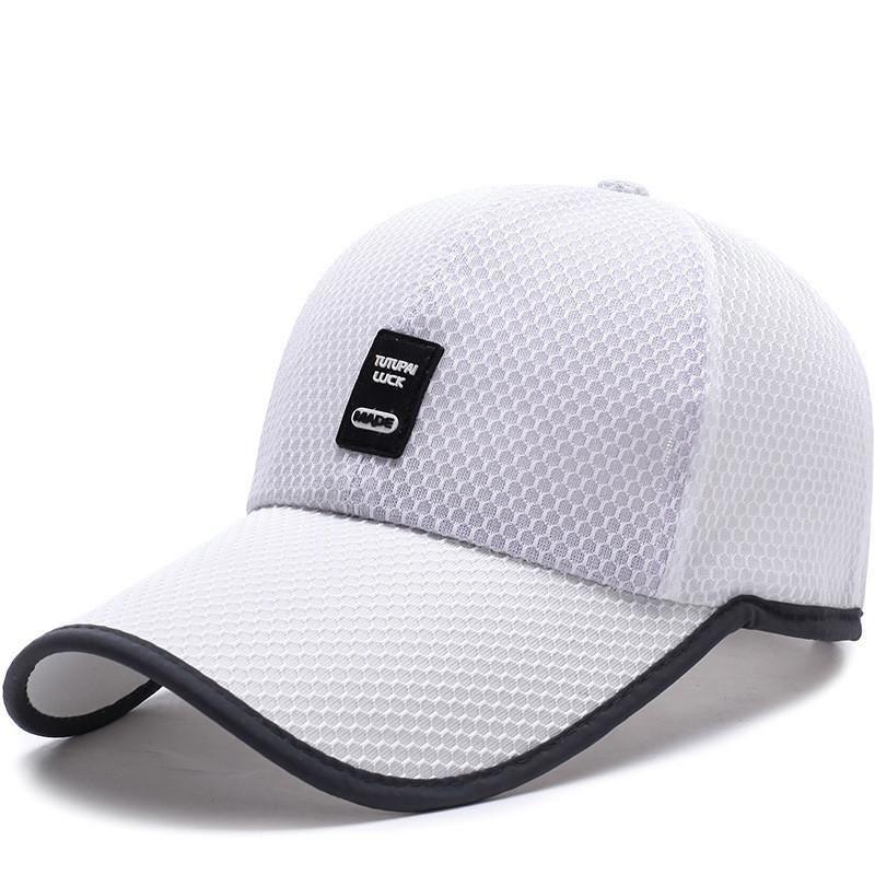 Snapback Baseball Cap Long Visor Trucker Sports Mesh Hats For Women ... 78dadb58791b