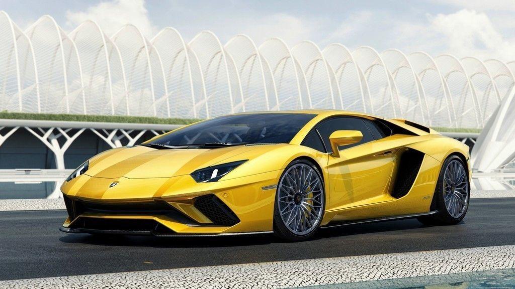 Yellow Lamborghini Aventador S Sports Car K Wallpaper Cars - Sports cars 5k