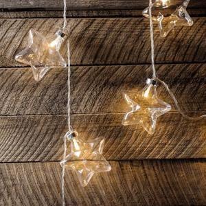 Guirlande Lumineuse Intérieur Boules de No l Etoiles avec 20 LED